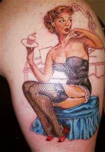 Pinup Girl Tattoo 11