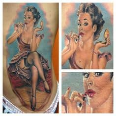 Pinup Girl Tattoo 26
