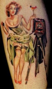 Pinup Girl Tattoo 28