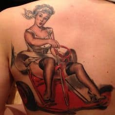 Pinup Girl Tattoo 31