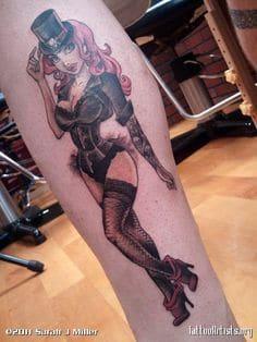 Pinup Girl Tattoo 7