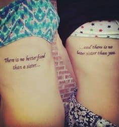 Sister Tattoo Ideas 24