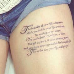 Tattoo Quote 25