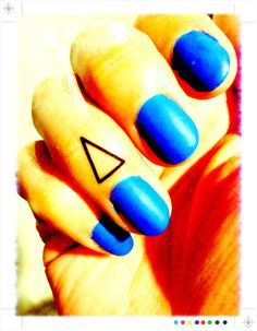 Triangle Tattoo Meaning 14
