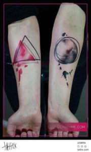 Triangle Tattoo Meaning 26