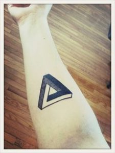 Triangle Tattoo Meaning 28