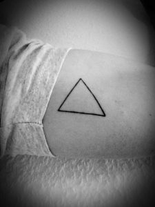Triangle Tattoo Meaning 30