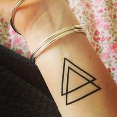Triangle Tattoo Meaning 32