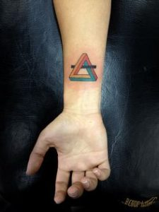 Triangle Tattoo Meaning 43