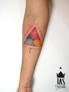 Triangle Tattoo Meaning 45