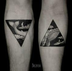 Triangle Tattoo Meaning 48