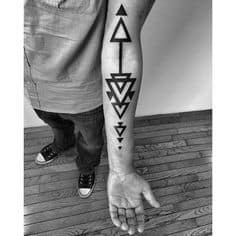 Triangle Tattoo Meaning 51