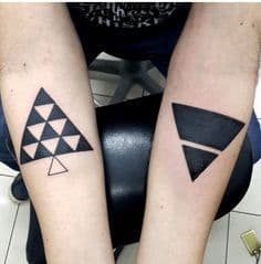 Triangle Tattoo Meaning 52