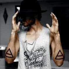 Triangle Tattoo Meaning 60