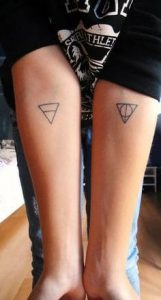 Triangle Tattoo Meaning 63