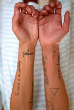 What does triangle tattoo mean ideas designs for How much is a tiny tattoo