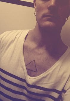 Triangle Tattoo Meaning 68
