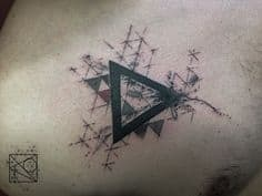 Triangle Tattoo Meaning 7