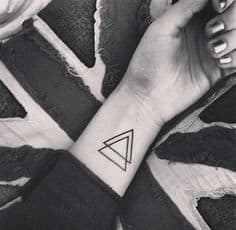 What Does Triangle Tattoo Mean 45 Ideas And Designs