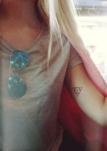Triangle Tattoo Meaning 9
