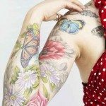 Watercolor Tattoo (16)