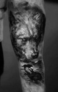 What Does Wolf Tattoo Mean 45 Ideas And Designs