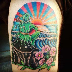 Atom Tattoo Seattle Chris Adams Tattoos Seattle