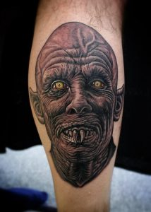 Baltimore Tattoo Artist Dave Wah 2
