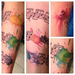 Watercolor tattoo artists atlanta