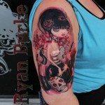 Portland Tattoo Artist Ryan Burke 1