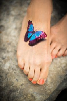 Butterfly Tatto... Ulysses Butterfly Tattoo