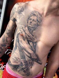Chest Tattoo 18