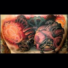 Chest Tattoo 21