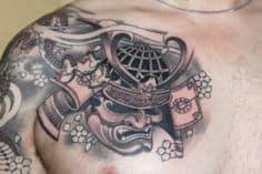 Chest Tattoo 26