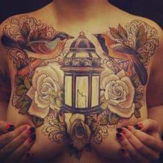 Chest Tattoo 27