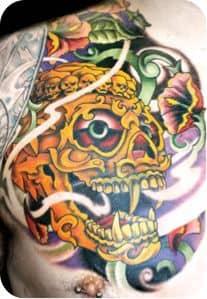 Chest Tattoo 30