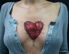 Chest Tattoo 35