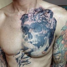 Chest Tattoo 4