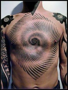 Chest Tattoo 41