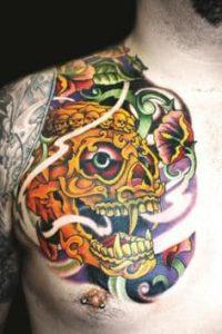 Chest Tattoo 43