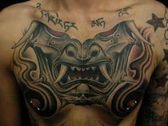 Chest Tattoo 50