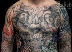 Chest Tattoo 6