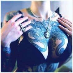 Chest Tattoo 8