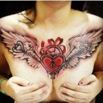 chest-tattoo-for-women-12