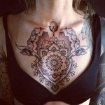 chest-tattoo-for-women-22