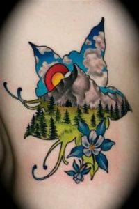 Cloud Tattoo 1