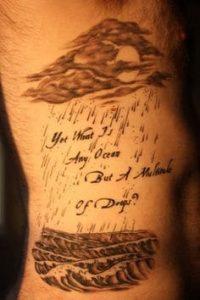 Cloud Tattoo 12