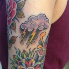 Cloud Tattoo 15