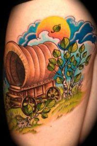 Cloud Tattoo 21