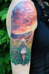 Cloud Tattoo 22